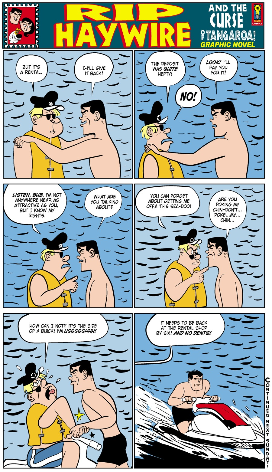 Rip Haywire Comic Strip for November 16, 2014