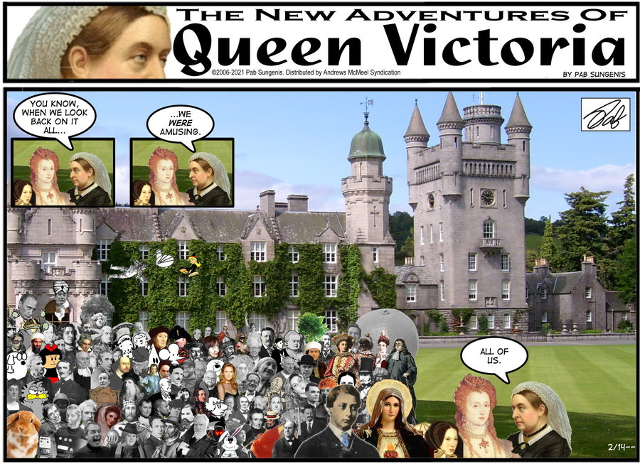 New Adventures of Queen Victoria Comic Strip for February 14, 2021