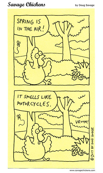 Savage Chickens by Doug Savage on Mon, 10 May 2021