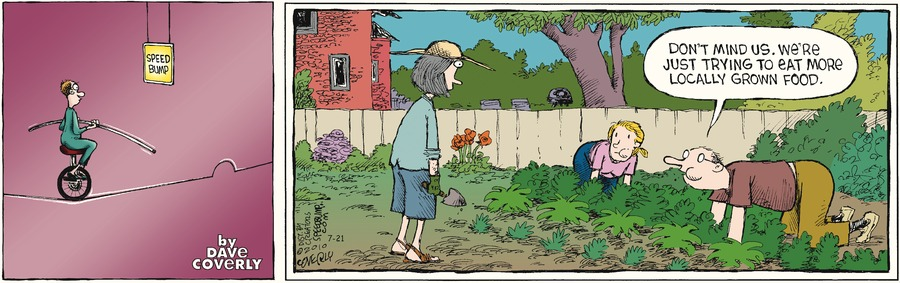 Speed Bump Comic Strip for July 21, 2013