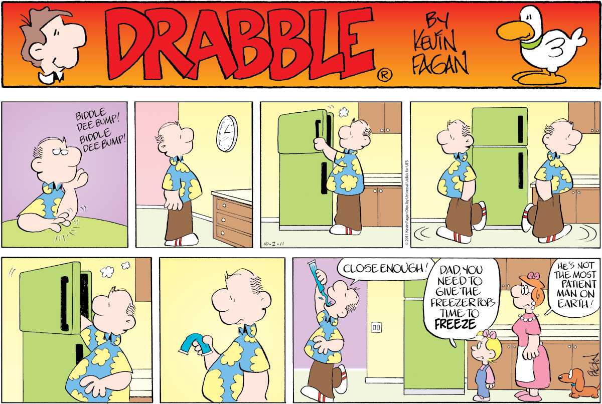 Drabble for Oct 2, 2011 Comic Strip
