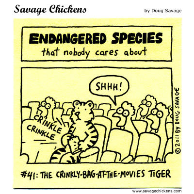 Savage Chickens Comic Strip for September 25, 2015