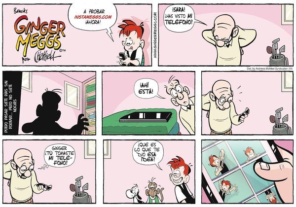 Ginger Meggs en Español