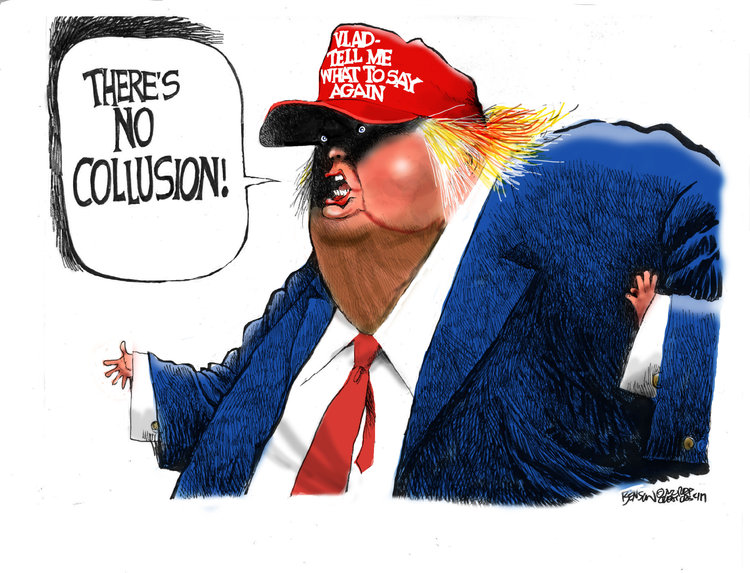 Steve Benson Comic Strip for May 30, 2017