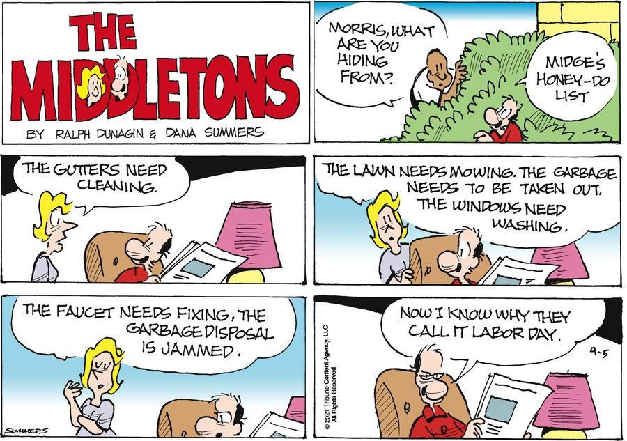 The Middletons Comic Strip for September 05, 2021