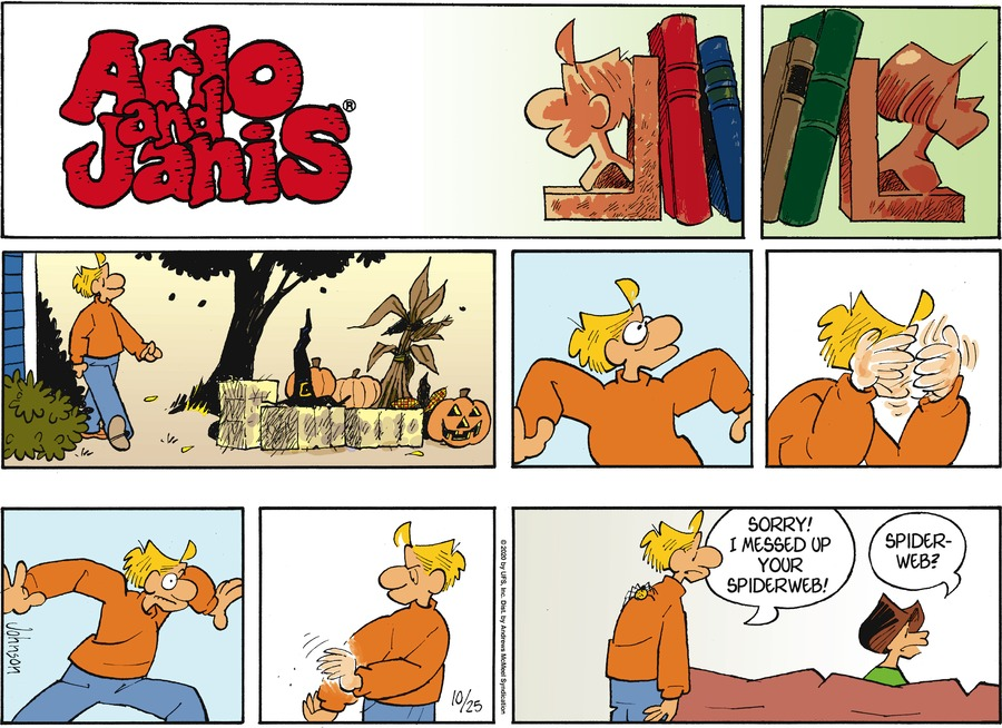 Arlo and Janis Comic Strip for October 25, 2020
