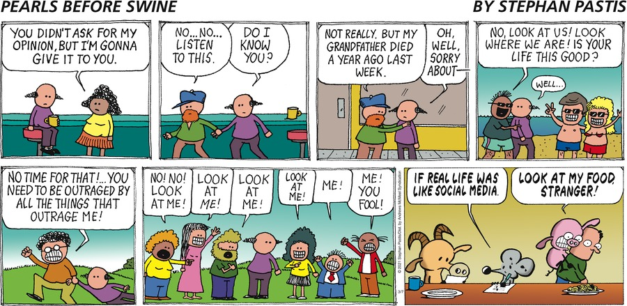 Pearls Before Swine by Stephan Pastis on Sun, 07 Mar 2021