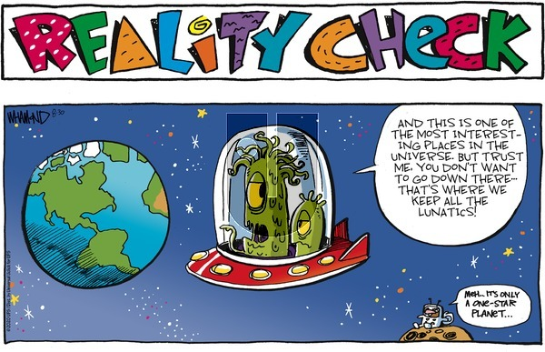 Reality Check on Sunday August 30, 2020 Comic Strip
