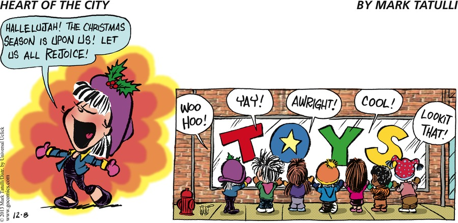 Heart of the City for Dec 8, 2013 Comic Strip