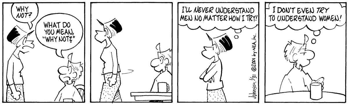 Arlo and Janis for Jan 31, 2001 Comic Strip