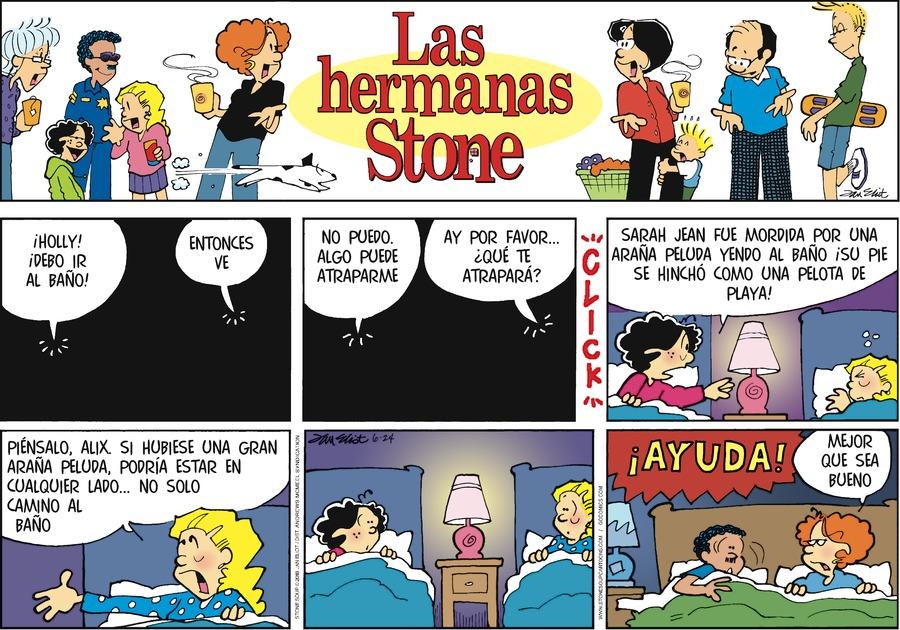 Las Hermanas Stone by Jan Eliot for Jun 24, 2018