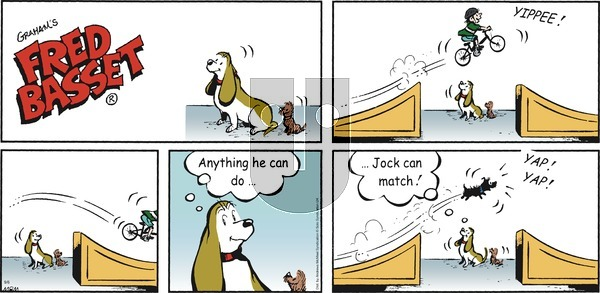 Fred Basset on Sunday September 6, 2020 Comic Strip