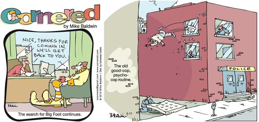 Cornered for Mar 17, 2013 Comic Strip