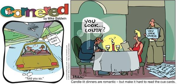Cornered on Sunday February 15, 2015 Comic Strip