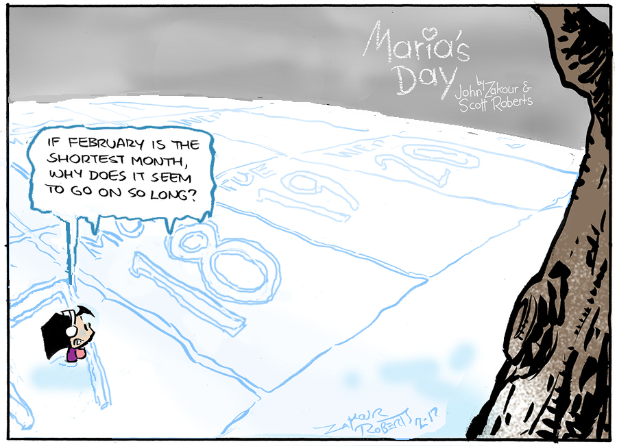 Maria's Day Comic Strip for February 17, 2019