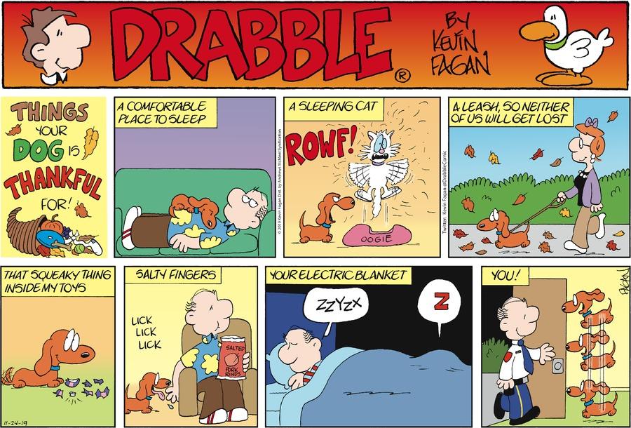 Drabble Comic Strip for November 24, 2019