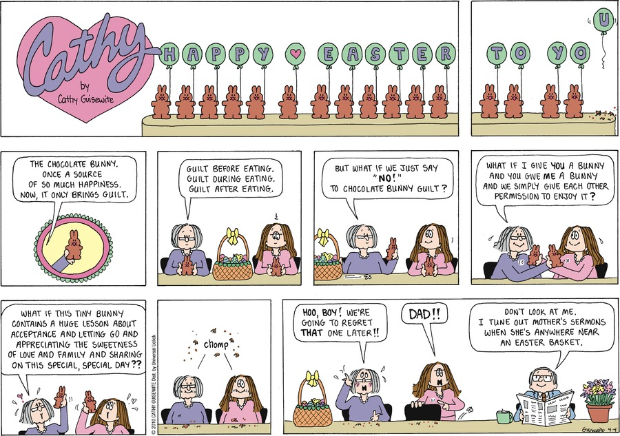 Cathy Comic Strip for April 04, 2010