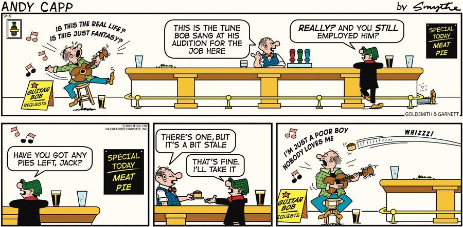 Andy Capp Comic Strip for September 19, 2021