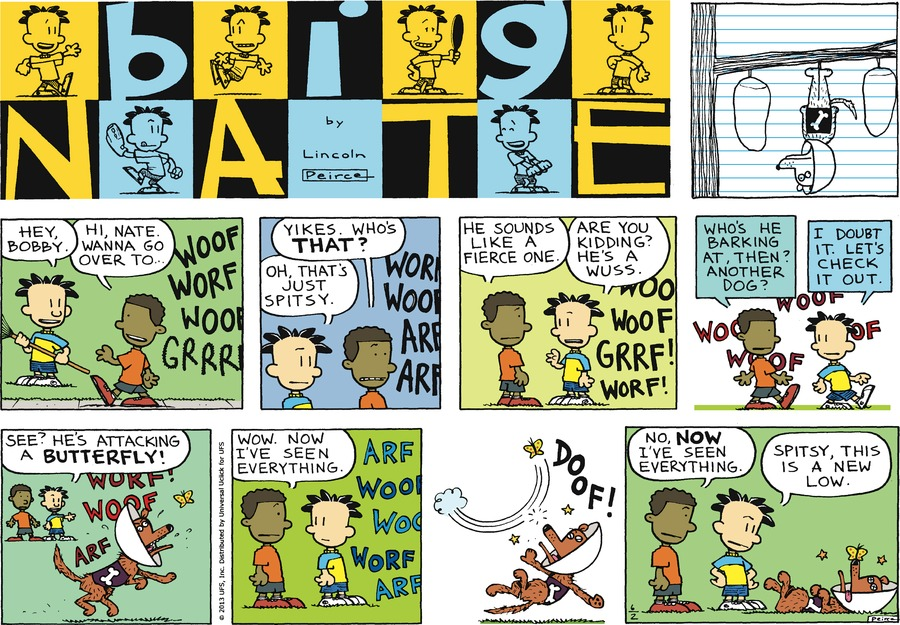 Big Nate for Jun 2, 2013 Comic Strip