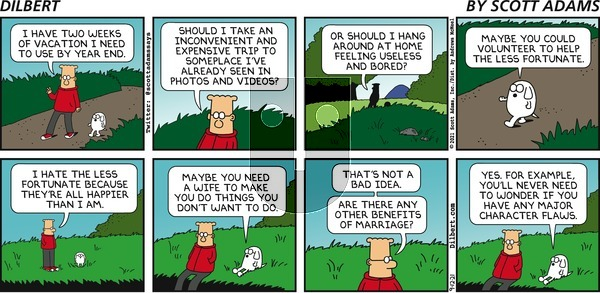 Dilbert - Sunday September 12, 2021 Comic Strip