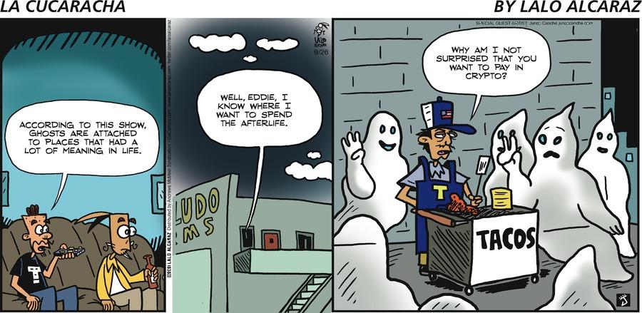 La Cucaracha Comic Strip for September 26, 2021