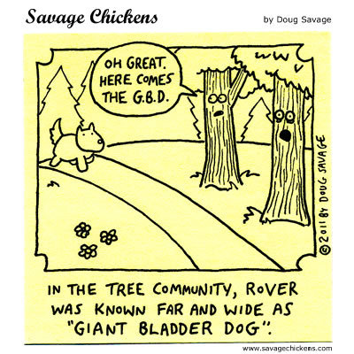 Savage Chickens Comic Strip for September 23, 2015