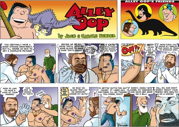 Alley Oop on Sunday December 30, 2018 Comic Strip