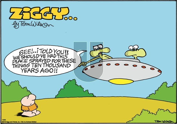 Ziggy - Sunday December 22, 2019 Comic Strip