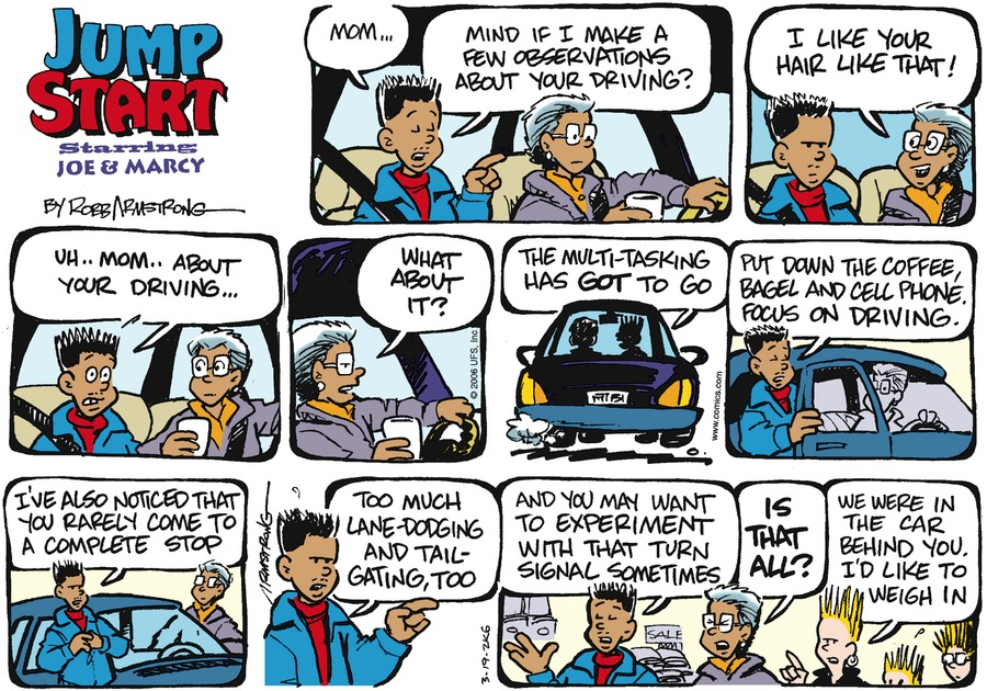 JumpStart Comic Strip for March 19, 2006