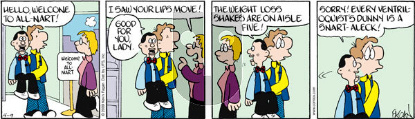 Drabble on Thursday April 9, 2009 Comic Strip