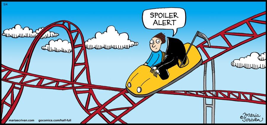 Half Full Comic Strip for May 04, 2014