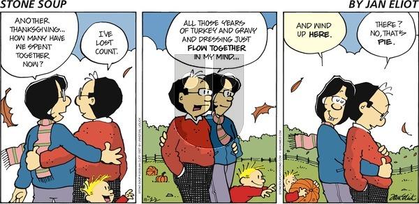 Stone Soup on Sunday November 22, 2009 Comic Strip