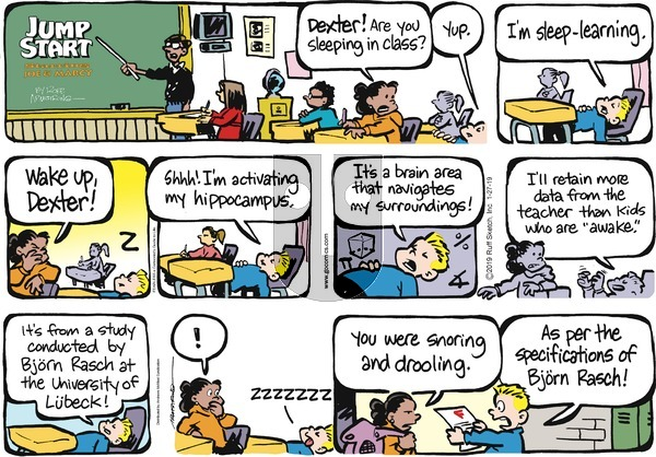 JumpStart on Sunday January 27, 2019 Comic Strip