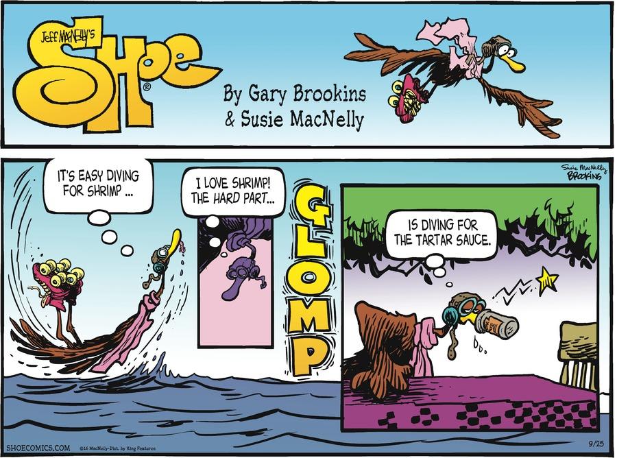 Shoe Comic Strip for September 25, 2016