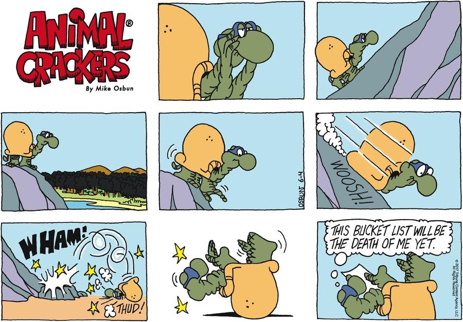 Animal Crackers for Jun 4, 2017 Comic Strip