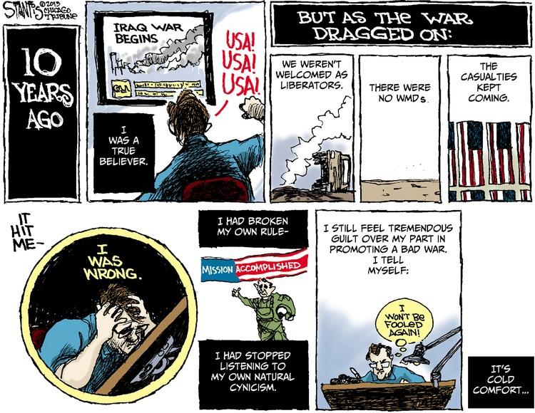 Scott Stantis Comic Strip for March 24, 2013