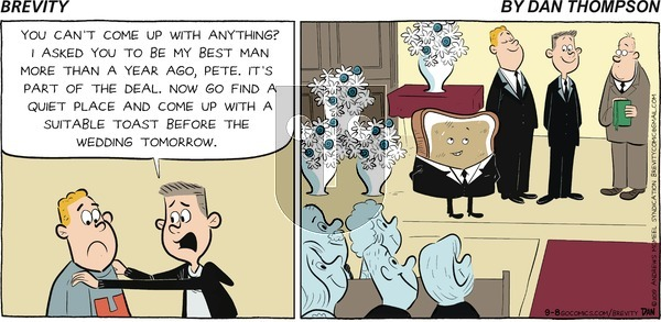 Brevity on Sunday September 8, 2019 Comic Strip