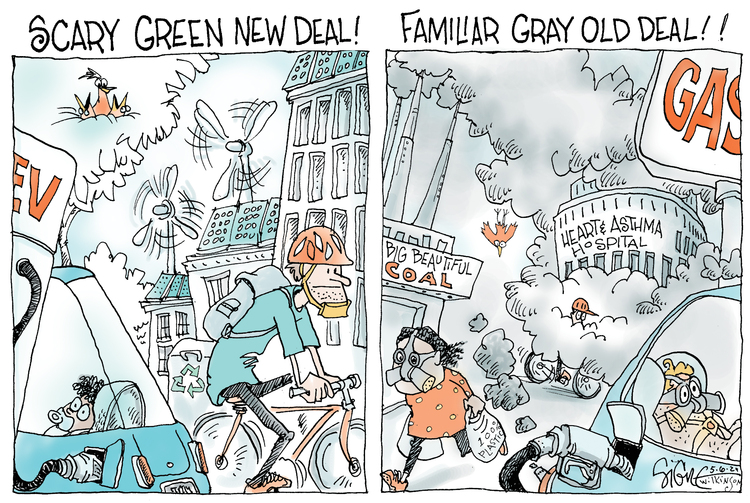 Signe Wilkinson by Signe Wilkinson on Thu, 06 May 2021