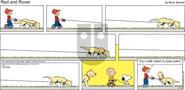 Red and Rover - Sunday September 15, 2019 Comic Strip