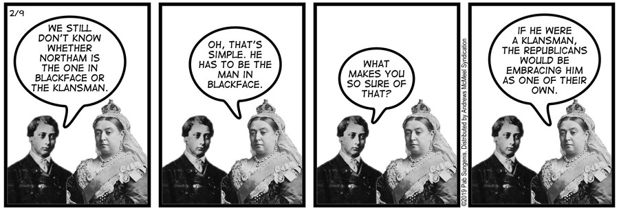 New Adventures of Queen Victoria Comic Strip for February 09, 2019