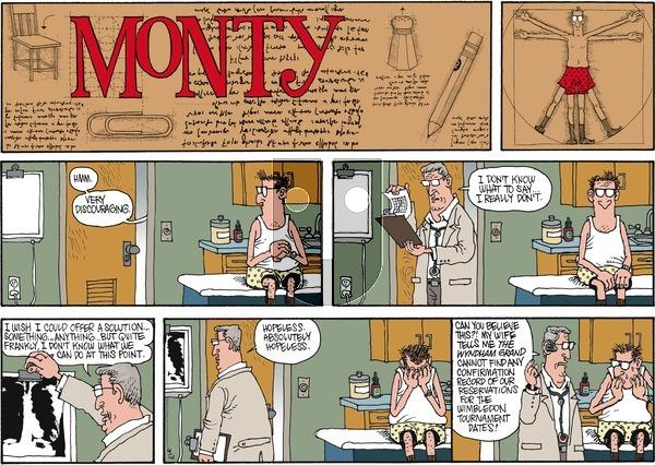 Monty on Sunday April 14, 2013 Comic Strip