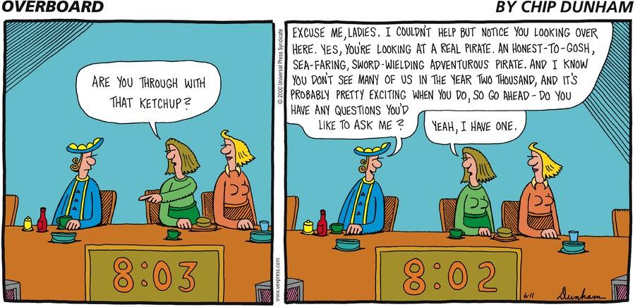 Overboard for Jun 11, 2000 Comic Strip