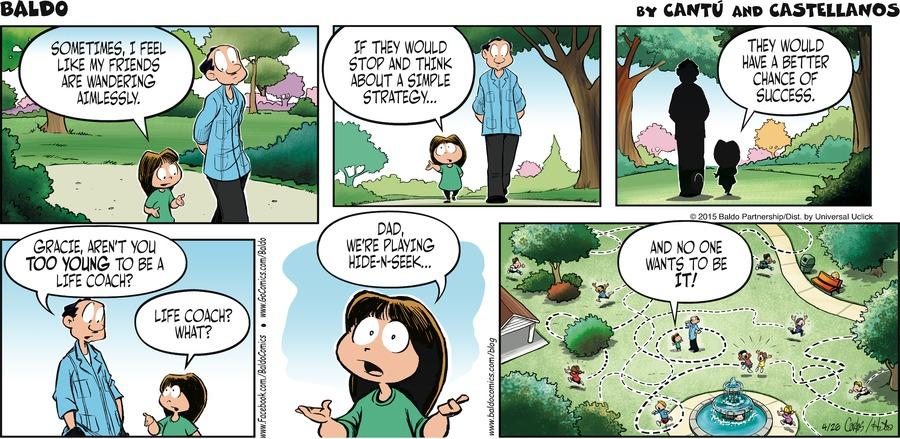 Baldo for Apr 26, 2015 Comic Strip