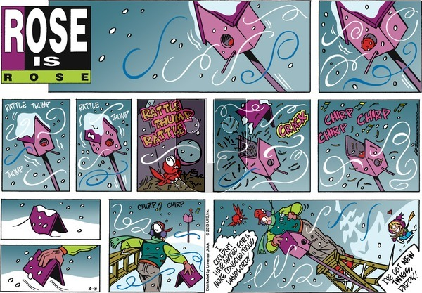 Rose is Rose on Sunday March 3, 2013 Comic Strip