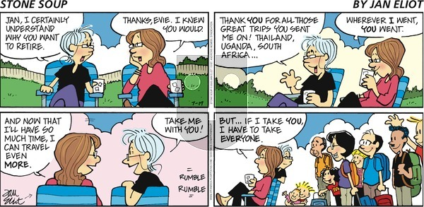 Stone Soup - Sunday July 19, 2020 Comic Strip