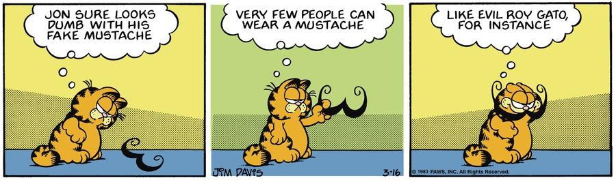 Garfield Classics Comic Strip for March 21, 2021