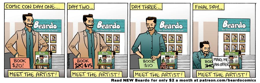 Beardo Comic Strip for September 15, 2021