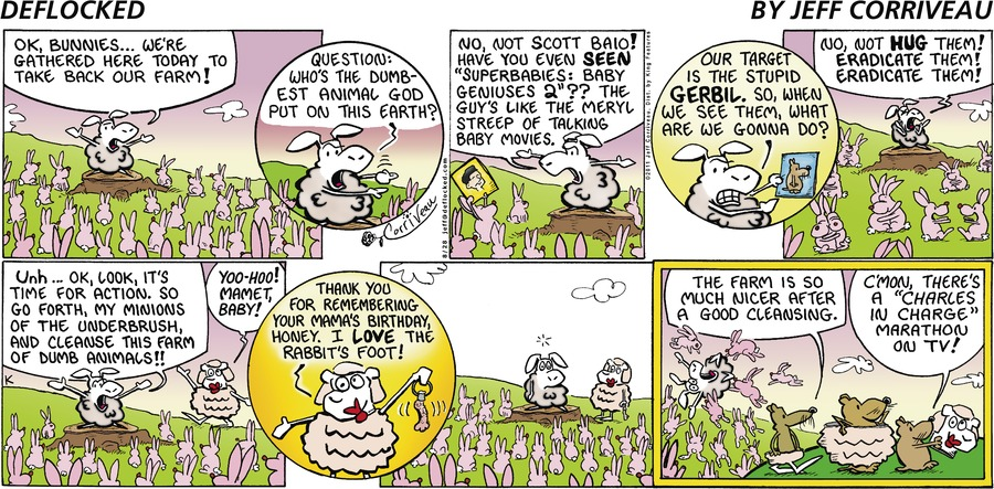 DeFlocked Comic Strip for August 28, 2011