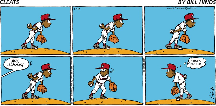 Cleats Comic Strip for May 20, 2007