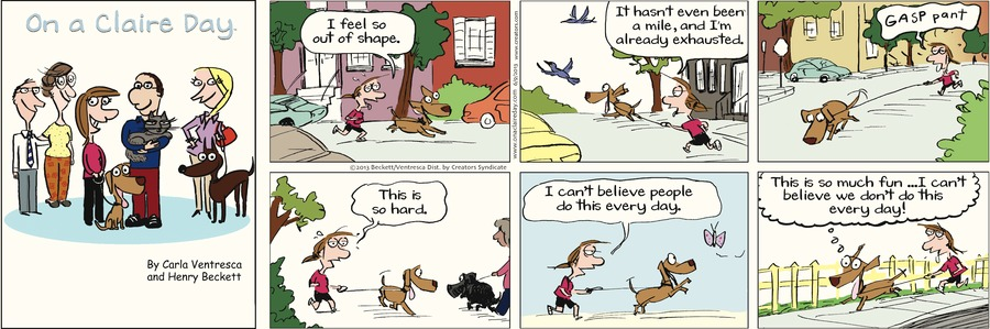 On A Claire Day for Jun 9, 2013 Comic Strip